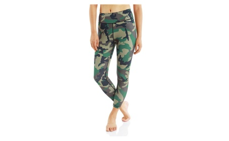 Women Yoga Pants Quick-Drying Outdoor Sports Camouflage Fitness Pants 9c38dc64-03bb-40c0-acbf-d94c9fa123d2