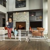 Double-Door Super-Wide Baby Gate and Play Yard