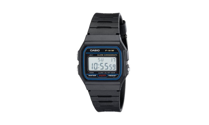 355c86afc Up To 81% Off on Casio Men's F91W-1 Classic Bl... | Groupon Goods