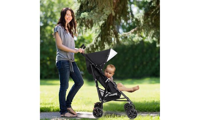 Lightweight Umbrella Baby Stroller Toddler Travel Sun Canopy Storage Basket