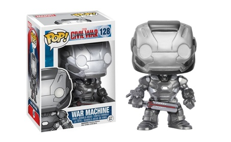Funko Pop Marvel Captain America War Machine Vinyl Bobblehead 12d9425d-2526-41dc-8f39-b0f0c53f4f15