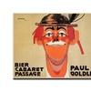 'Bier Cabaret Passage Paul Golder' Canvas Art