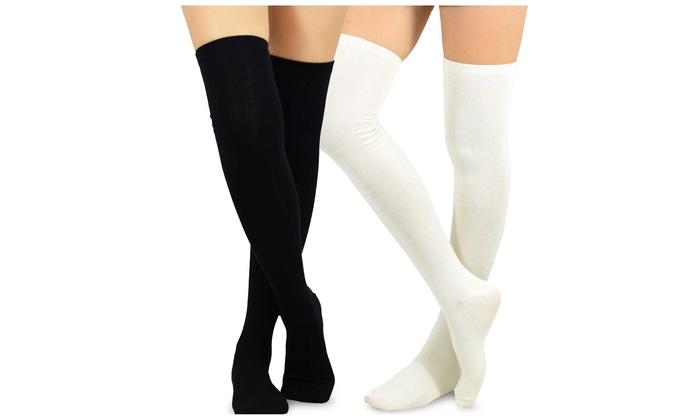 1095a8773 Teehee Women s Fashion Over Knee Socks