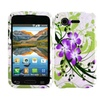 Insten Green Lily Hard Back Skin Protective Case For Lg Optimus Zone 2