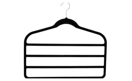 Quality Multi-layer Non-slip Slim Velvet Hanger 5 Garment Hanger 4c4cb97d-e735-47bd-b50f-36da123f7c77