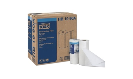 Tork HB1990A CPC 11 x 9 in. Universal Perforated Paper Household Roll Towel