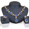 Africa Beads Collares Women's Necklace Earrings Jewelry Set