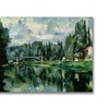Paul Cezanne 'The Banks of the Marne at Creteil' Canvas Art