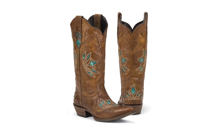 440d6c885f5 Black Star HIDALGO (Brown) Women's Cowboy Boots | Groupon