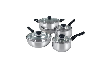 Oster Rametto 8 pc 0.5 mm Stainless Steel Cookware Cooking Set photo