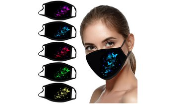 Adult Face Masks Reusable Washable Mask 5pcs