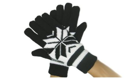 Winter Deer Knitted Warm Lined Gloves for Women e3adb629-16fa-41c2-80e0-788dc1d33c4e