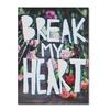 Leah Flores 'Break My Heart' Canvas Art