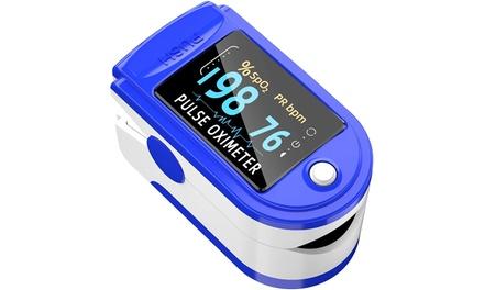 Fingertip Pulse Oximeter Blood Oxygen Saturation Meter Monitor Finger SpO2 Was: $79.99 Now: $6.95.