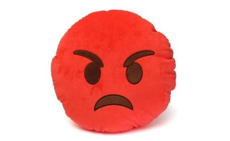 Emoji Smiley Emoticon Yellow Round Plush Soft Doll Toy 73ab3855-9b97-4573-87aa-f49b73d36808