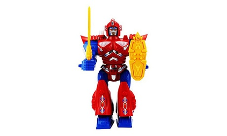 Blaze Dragon Robot Battery Operated Toy Figure w/ Walking Action 5e399cf0-7ea1-4486-bded-f78769728ff3