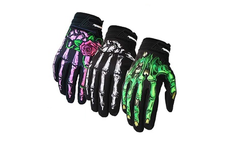Skeleton Bones Gloves Windproof Waterproof Touch Screen Sports Glove 5740b4bd-b86c-499f-933c-f22c9b85e896