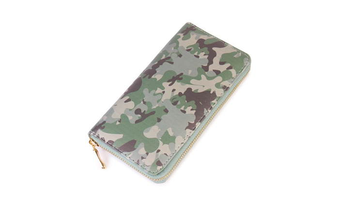 Camouflage Wallet Woven