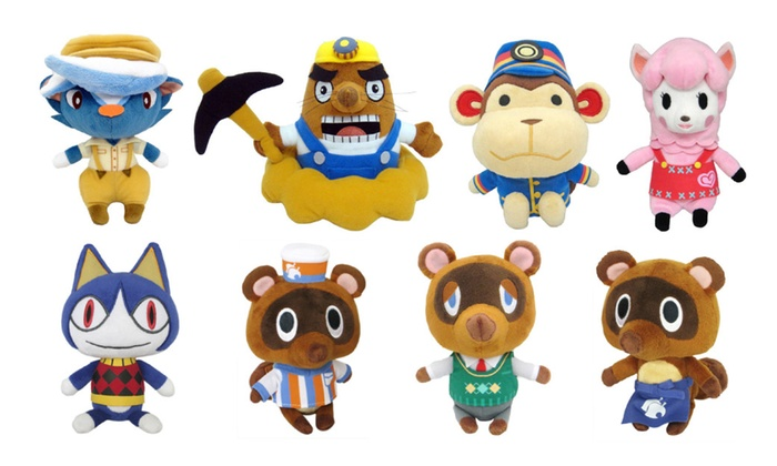 Little Buddy Animal Crossing Plush Toys 8 Characters Available