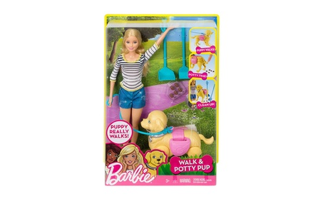 Barbie Girls Walk and Potty Pup with Blonde Doll d1d321cc-028f-4a75-8a41-3b7ca1097d42