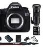 Canon EOS 5DSR Digital SLR Camera (Body) plus 150-600mm HSM Zoom Lens Kit