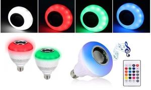 Wireless Bluetooth Multi-color Light Bulb Speaker
