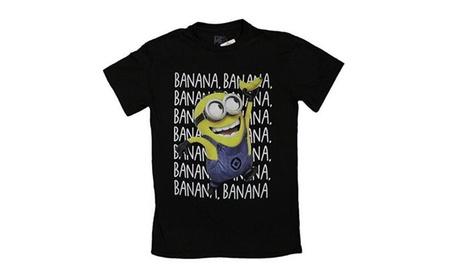 Oukai Men's Despicable Me Minions Bananas Bananas Bananas T-Shirt 6636da36-91db-4511-b4c3-981b7dca1d60