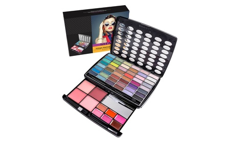 Glamour Girl Makeup Kit - 48 Eyeshadow/4 Blush/6 Lip Glosses