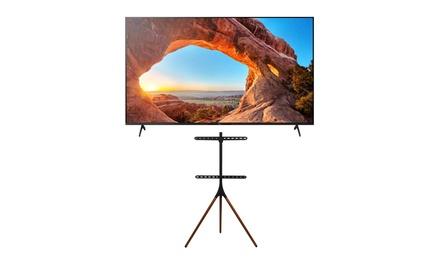 Sony KD75X85J X85J 75-Inch Smart LED TV with Kratos Home Studio TV Stand