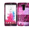 Insten For Lg G Vista Vs880 Hard Case Shell Colors Pink Exotic Skins