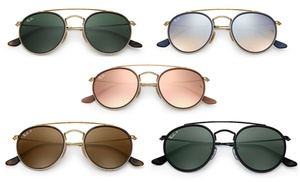 Ray-Ban Round Double Bridge Sunglasses RB3647N -Unisex -Multiple Color fc4d6fb04e
