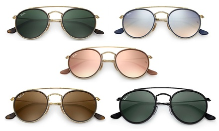 375db676bbc Up To 31% Off on Ray-Ban Round Double Bridge S...