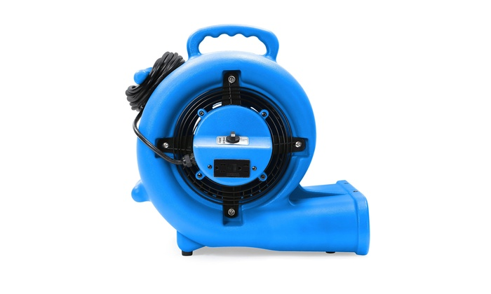 Industrial  Blue Carpet Dryer Air Mover 3 Speed 1//3 HP Blower Fan GFCI Outlets