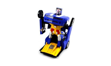 Chevy Camaro SS Super Robot Electric Toy Figure Transforming (Colors May Vary) e40800f0-cc18-47eb-a471-d4010e47169f