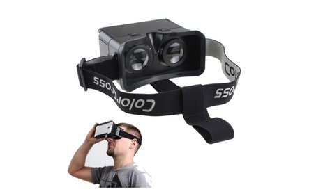 AGPtek Black Google Cardboard Universal Virtual Reality 3D Video Glass 7a124d4a-0953-4725-9bb3-316d52f2269f