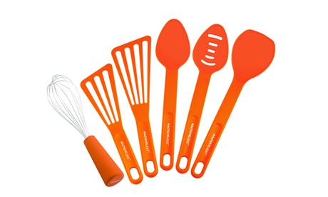 Rachael Ray Tools 6-Piece Tool Set, Orange 86c547f8-f034-41d3-ada3-1b834e54c69e