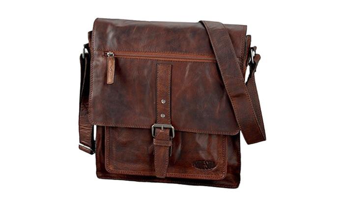 Pride & Soul Ethan Shoulder Bag With Adjustable Shoulder Strap