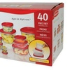40 Piece Easy Find Lid Food Storage Set