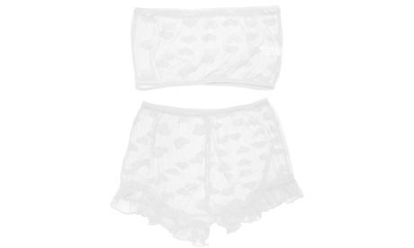 Women Sexy Lingerie Set Lace Bra Panty Sleepwear Babydoll Underwear