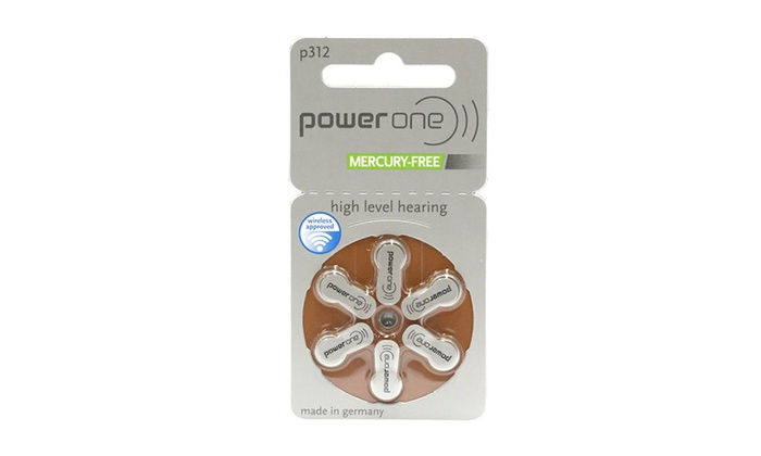 Excellent 60 Power One Hearing Aid Batteries