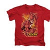 Justice League Flash Lightning Shirt