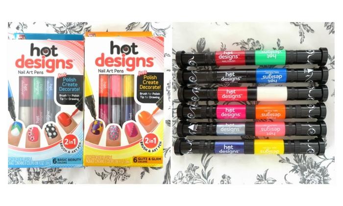 Hot Designs Nail Art Pens Groupon