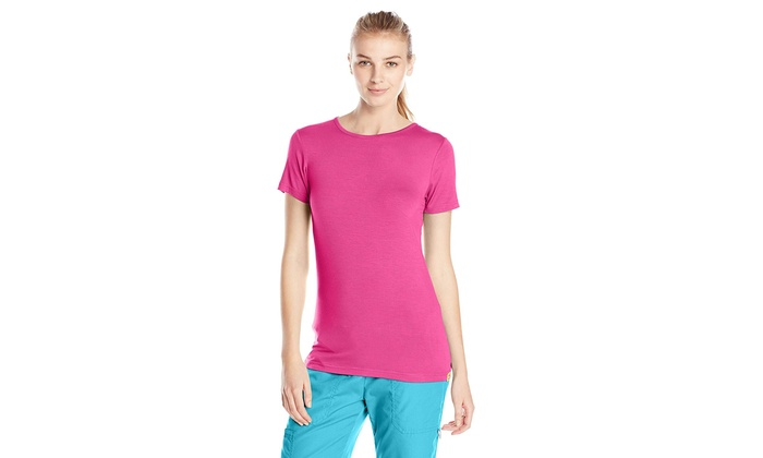 b16e2921df517 Up To 59% Off on WonderWink Women's Silky Shor... | Groupon Goods