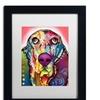 Dean Russo 'Basset' Matted Framed Art