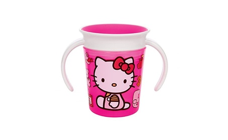 Munchkin Hello Kitty Miracle 360 Trainer Cup, 6 Ounce 9215a96f-256f-458b-99cd-2bf8f44c3caf