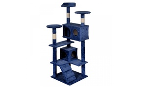 Cat Tree Tower Condo Furniture Scratch Post Kitty Pet House