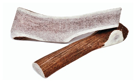 Large Hand Picked Natural Grade A Split Elk Antler Dog Chews Twin Pack 79679ab2-cc93-4690-a8aa-c9ef4bf4dd8f
