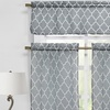 Geometric Kitchen Curtain Set