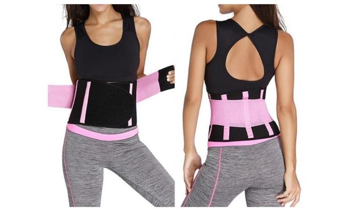 Women's Adjustable Waist Trimmer Belt