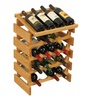 Wooden Mallet 20 Bottle Dakota Wine Rack with Display Top